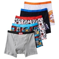 Star Wars Boys Pack of 5 Boxer Briefs Size
