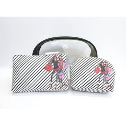Izak Zenou Love Catwalk Cosmetic Bag Set of 3