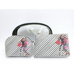 Izak Zenou Love Catwalk Cosmetic Bag Set of 3