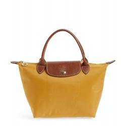 Longchamp Le Pliage Ladies Sunshine Yellow Foldable Tote Bag