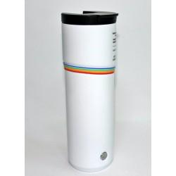 Starbucks Pride Rainbow White Stainless Steel Vacuum Insulated Tumbler 16 Fl Oz