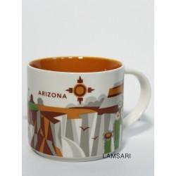 Starbucks Arizona Mug You Are Here Series 2013