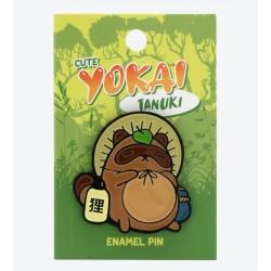 Yokai Tanuki Rest Enamel Pin