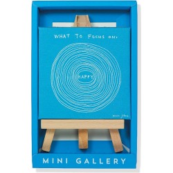 What To Focus On Mini Gallery - Artwork with Mini Easel