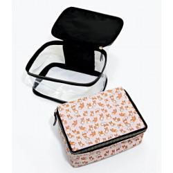 Corgi Makeup Cosmetic Bag...