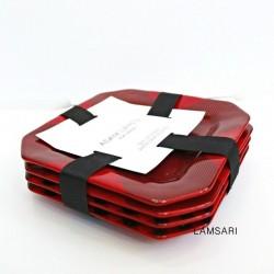 Adam Lippes Red Black Plaid...