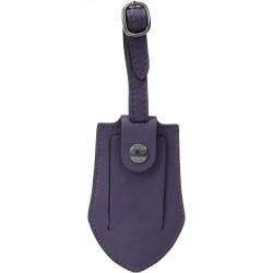 FRYE Purple Leather Luggage...