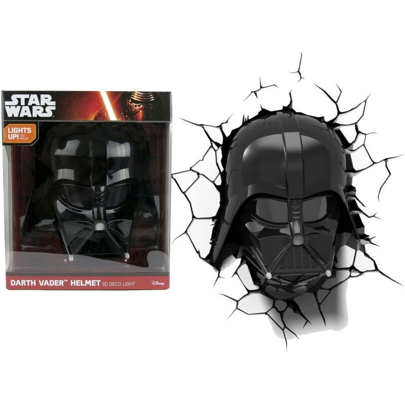Star Wars Darth Vader Helmet 3d Deco Light