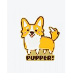 Corgi Pupper Enamel Pin