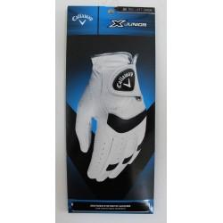Callaway Golf X Junior White Glove - M Regular Left