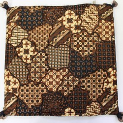 Handmade Fabric Ethnic Indonesian Batik Pillow Cushion Cover