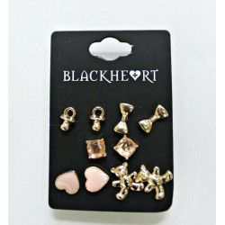 Blackheart Gold Pink Teddy...