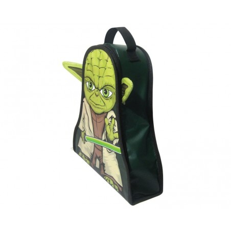 Neat-Oh! Star Wars Yoda Lunch Bag Zip Bin Storage & Carry Case