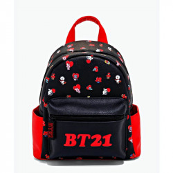 BT21 Character Hearts Black...