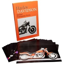 Harley Davidson Sixteen Frameable Prints Poster Box