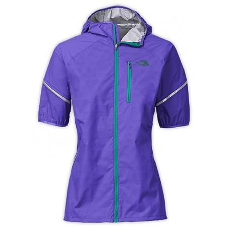 The North Face Women's Ultra Light Weatherproof Running Jacket - Purple