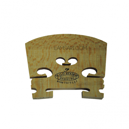 Milo Stamm Ponticelli Violin 4/4 Bridge - Premium A Shape 41.5 mm