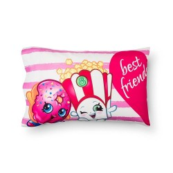 Shopkins Pillowcase - Standard - Pink