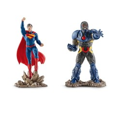 Schleich Superman vs. Darkseid Scenery Action Figure Pack - Justice League