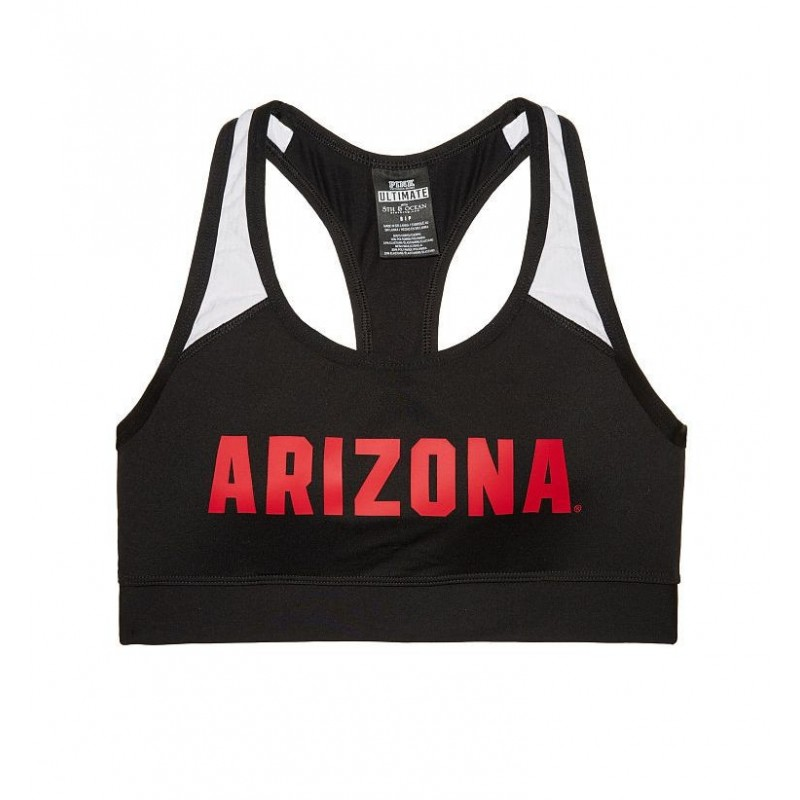 Victoria's Secret Pink University of Arizona Sports Bra - Ultimate Racerback - Collegiate Collection - Size S