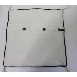 Batik Indonesia Cushion Pillow Cover Handmade Large Flower