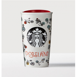 Starbucks Portland Double Wall Traveler Mug - 12 fl oz.