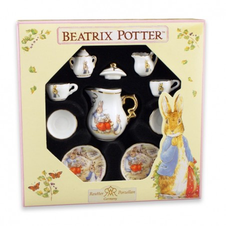 Reutter Porzellan Beatrix Potter Miniature Collector Tea Set