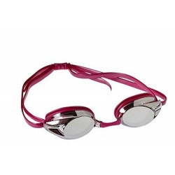 Speedo Adult Record Breaker Mirrored Goggle Pink