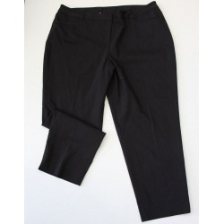 Lane Bryant Women's Plus Black Classic Trousers Dress Pants - Size 22