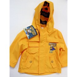 Bumblebee BOY Boys' Toddler Yellow Raincoat