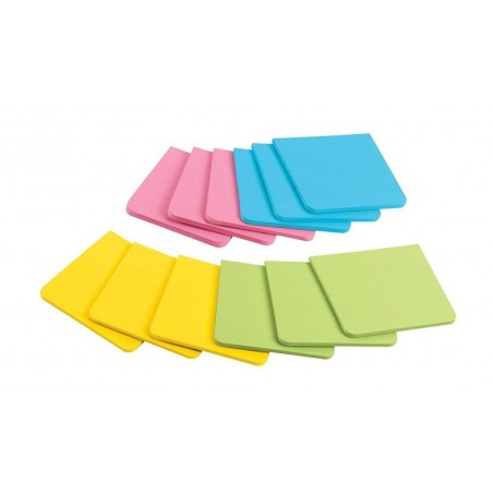 ost-it Super Sticky Full Adhesive Notes, 3 X 3 inches 25 Sheets/pad 4-Pack