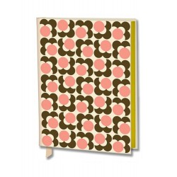 Orla Kiely Journal 3D Flower Fabric-Covered A6 Pocket