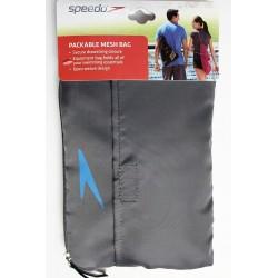 Speedo Packable Mesh Bag - Gray