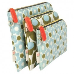 Orla Kiely Wild Meadow 3 Piece Purse Set