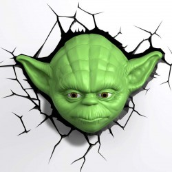 Star Wars Yoda 3D Wall Deco Night Light
