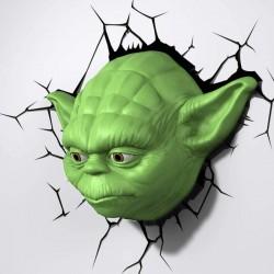 Star Wars Yoda 3D Wall Deco Night Light