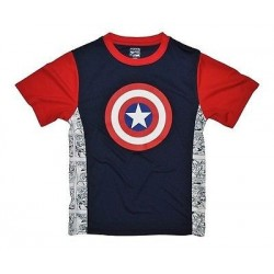 Marvel Comics Captain America Boys' Activewear T-Shirt