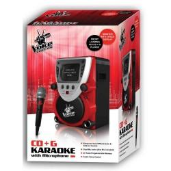 Sakar The Voice CD/CDG Karaoke All-In-One Machine