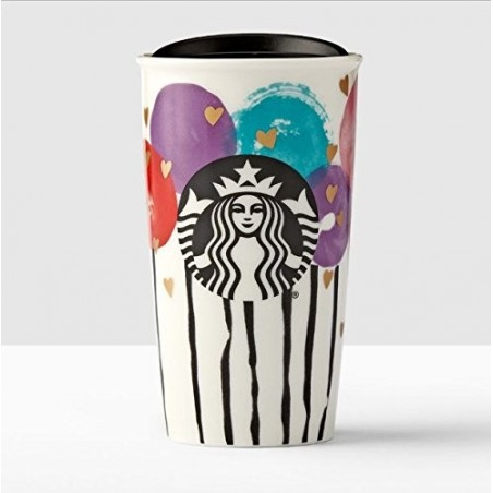 Starbucks Valentine's Day Balloons Double Wall Traveler