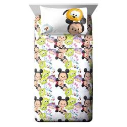 Disney Tsum Tsum Twin Bed Sheet Set