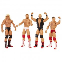 WWE Hall of Fame Four Horsemen Figures 4-Pack