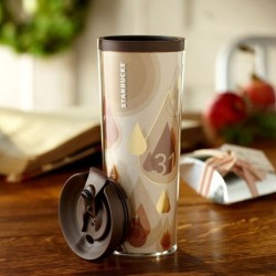 Starbucks Free Brewed Tumbler 16 Fl Oz 2013