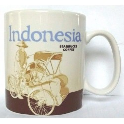 Starbucks Indonesia Mug 16 Fl Oz - Global Icon Collection