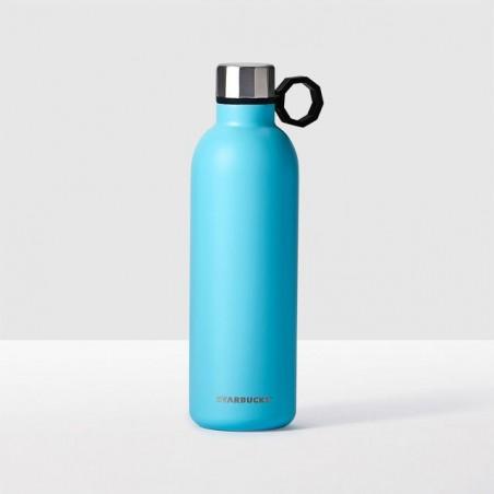 Starbucks Aqua Stainless Steel Water Bottle, 20 fl oz