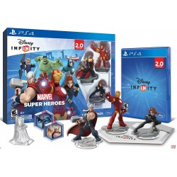 Disney Infinity Marvel Super Heroes 2.0 Sony PlayStation 4 PS4 Starter Pack