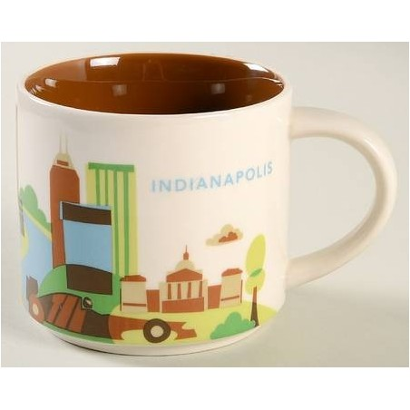 Starbucks Indianapolis Mug - You Are Here Collection