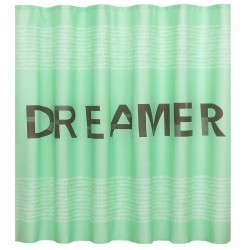 Room Essential Fabric DREAMER Shower Curtain