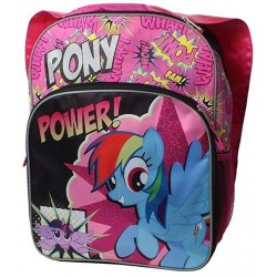 My Little Pony Pony Power Pink Cape Sparkle Side Mesh Pockets Backpack