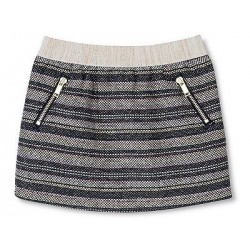Genuine Kids from Oshkosh Toddler Girls' Metallic Tweed Skirt Nightfall - Blue