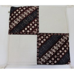 Batik Indonesia Pillow Cushion Cover - Patchwork - Handmade